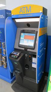 WalMart Money Center ATM machine
