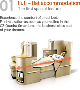 the seat in the lie down  position