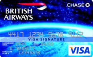 just one example of a VISA signature credit card