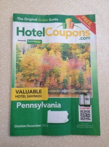 hotel coupon book