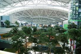 one of the 7 gardens at the Incheon