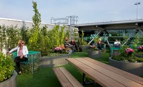 Childrens Park and Playground at Schiphol