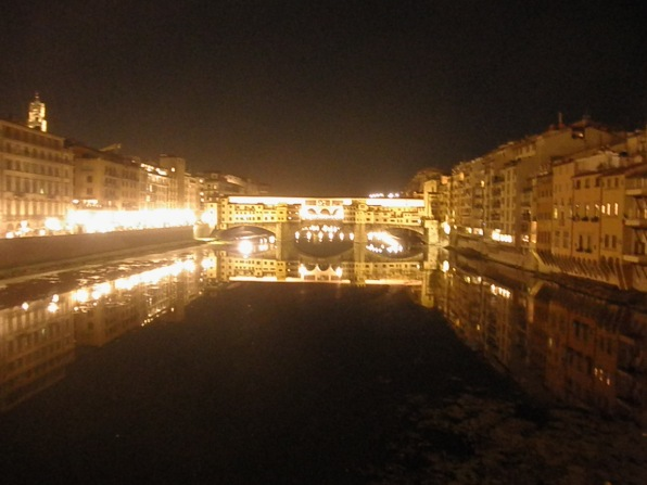 Ponte Vecchio at night - all that glitters is gold