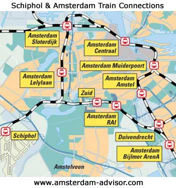 amsterdam train map