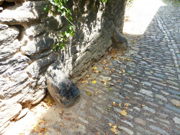 cornerstone in Kutna Hora