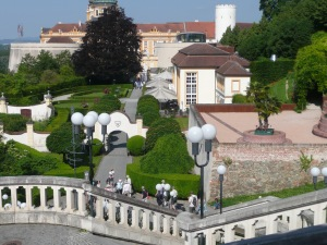 some of the gardens of the Abbey
