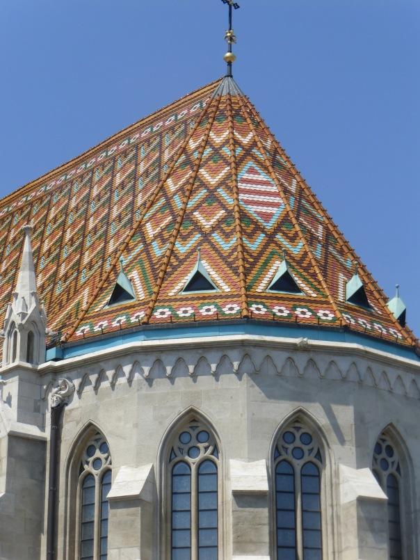 The tiled roof