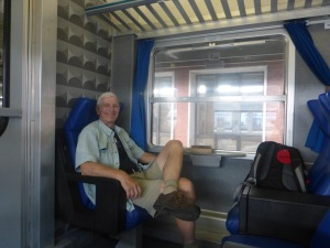 Our train ride from Venice to Verona