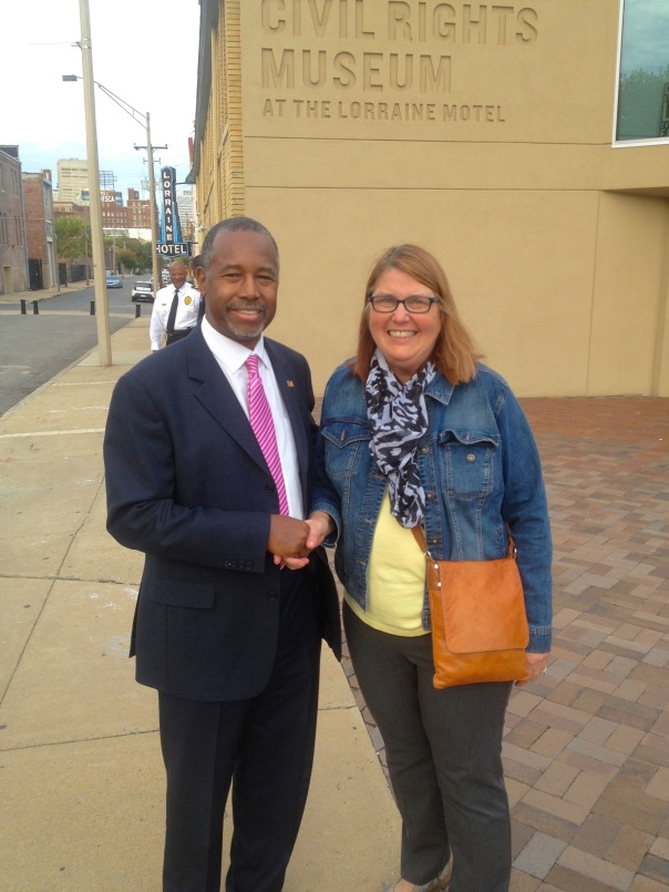 Dr. Ben Carson and myself