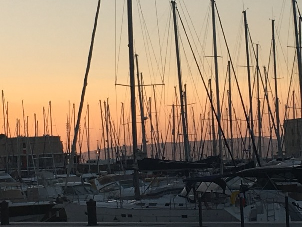 Sunset in Marseille